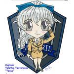 Chibi Tessa Staff Badge