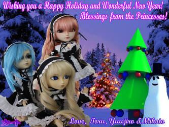 Princess Princess Christmas by Kato-Shiroi