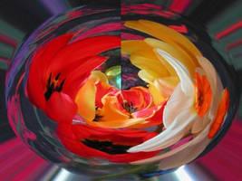 Spherical Flower by Kato-Shiroi