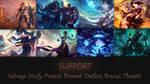 Support wallpaper (League of Legends)