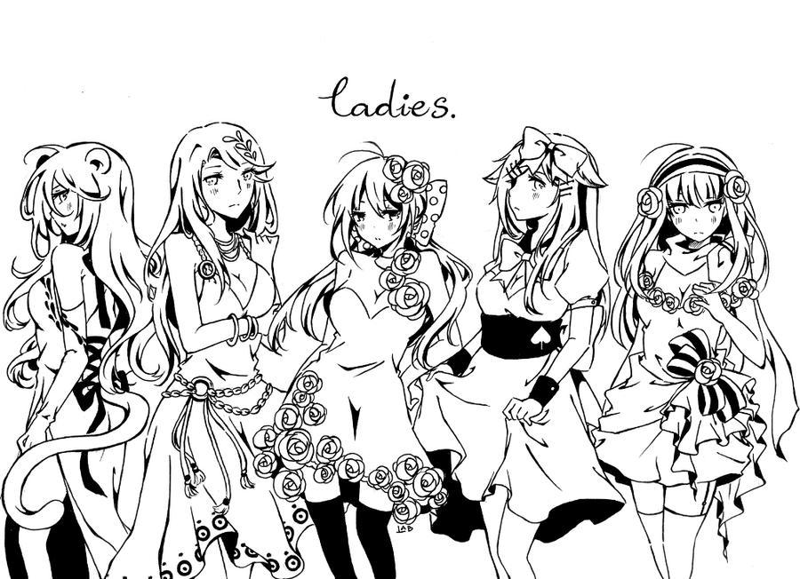 ladies. by LabJusticaholic