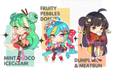 FOOD BABES ADOPT AUCTION | CLOSED