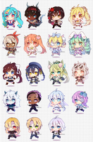 :c: running cheebs batch 1 by LabJusticaholic