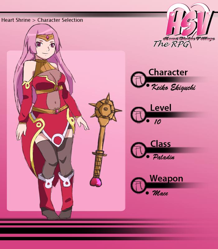 HSV: Keiko RPG Card by anniberri