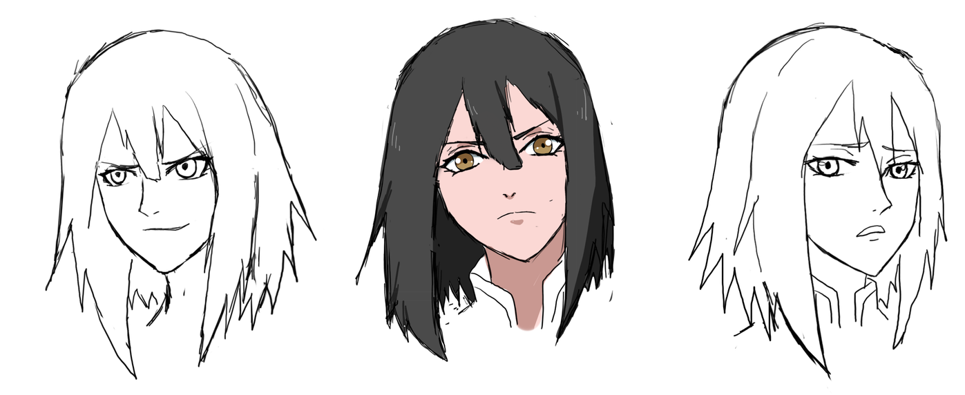 Michiko's New Look by anniberri