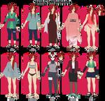 Akina's Wardrobe by anniberri