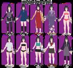 Michiko's Wardrobe by anniberri