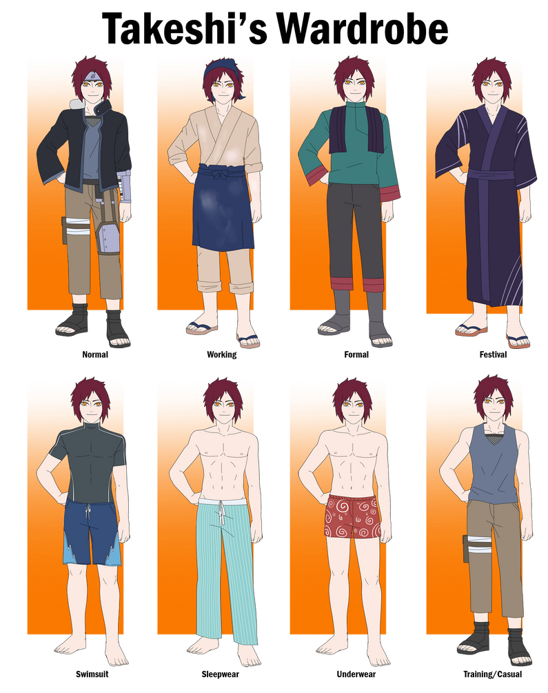 Takeshi's Wardrobe by anniberri