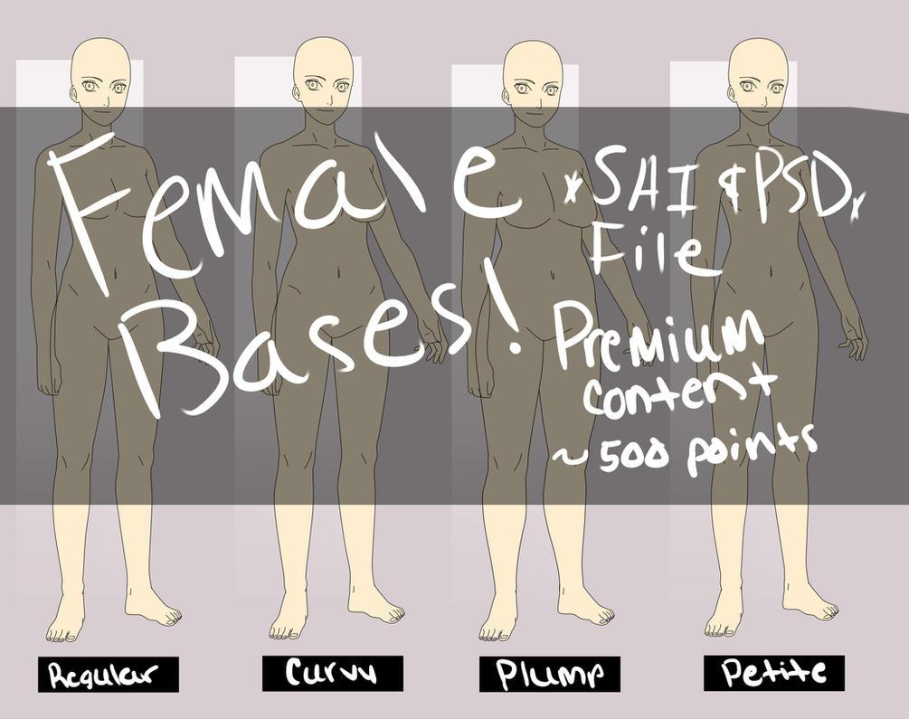 Premium Content: Female Bases by anniberri
