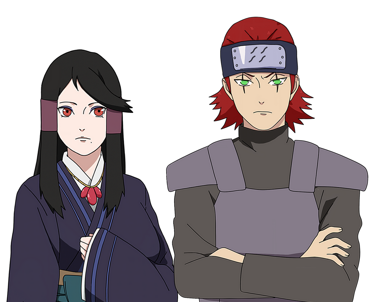 Akina's Parents (Younger Versions) by anniberri