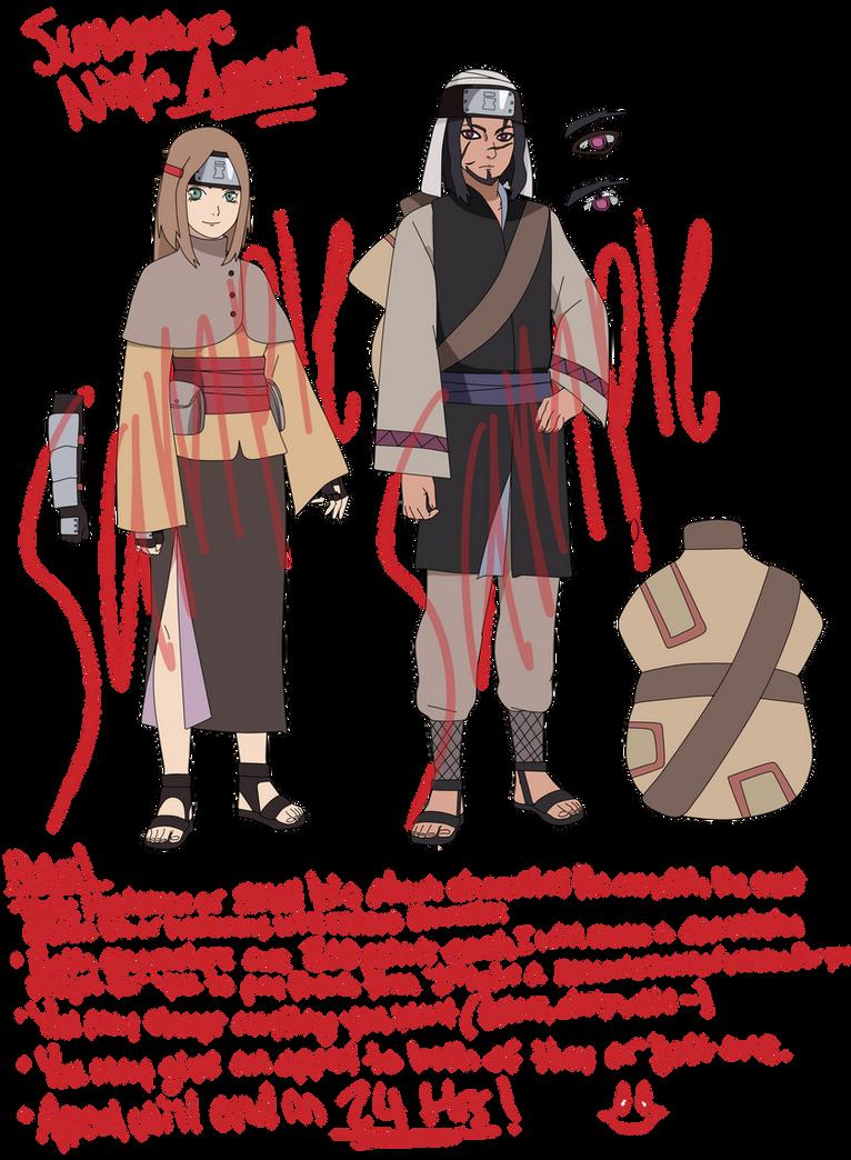 -CLOSED- Sunagakure Ninja Appeal Adoption by anniberri