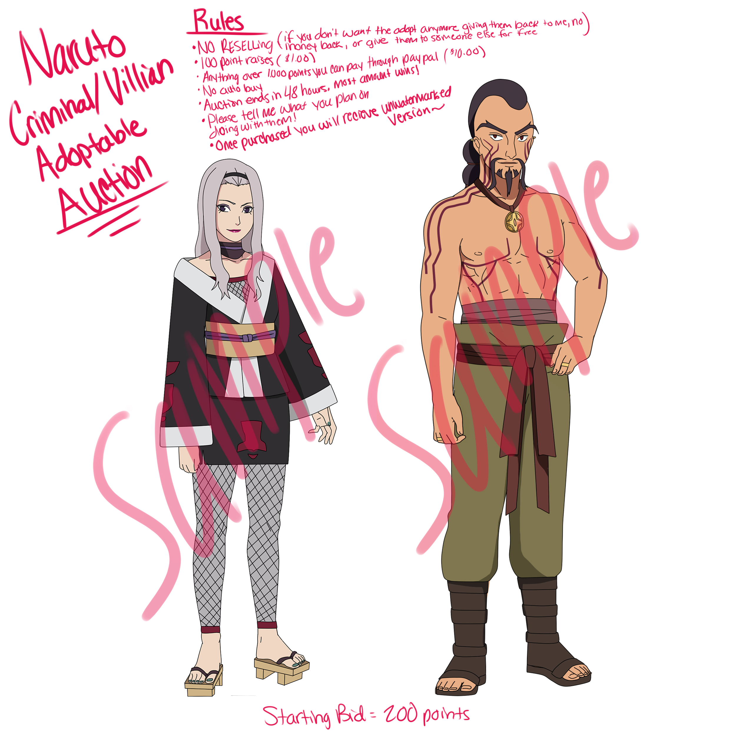 Criminal/Villian Naruto Adopts -CLOSED- by anniberri