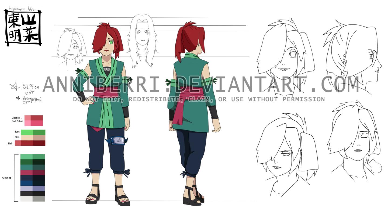 Akina Higashiyama Settei: Part I-Part II by anniberri