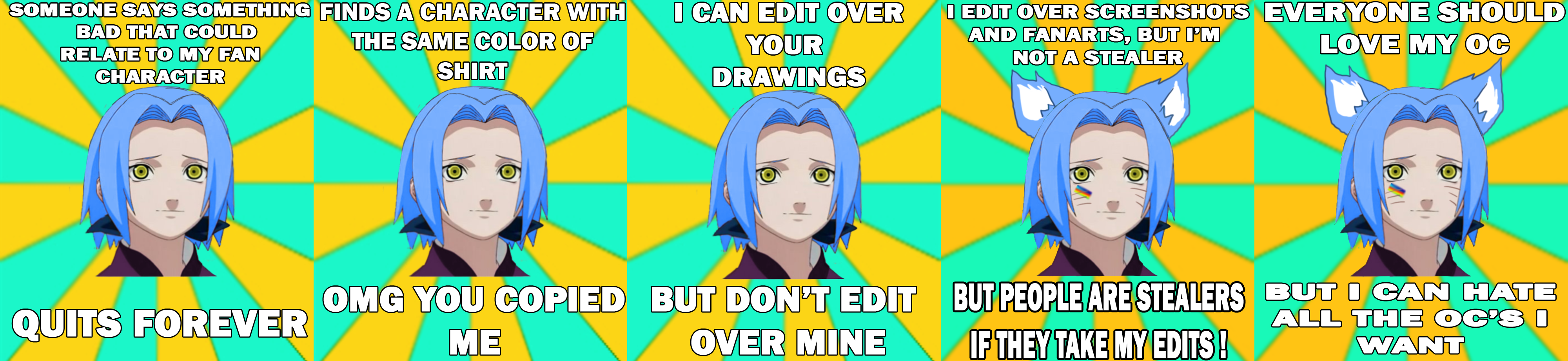 Naruto OC memes by anniberri