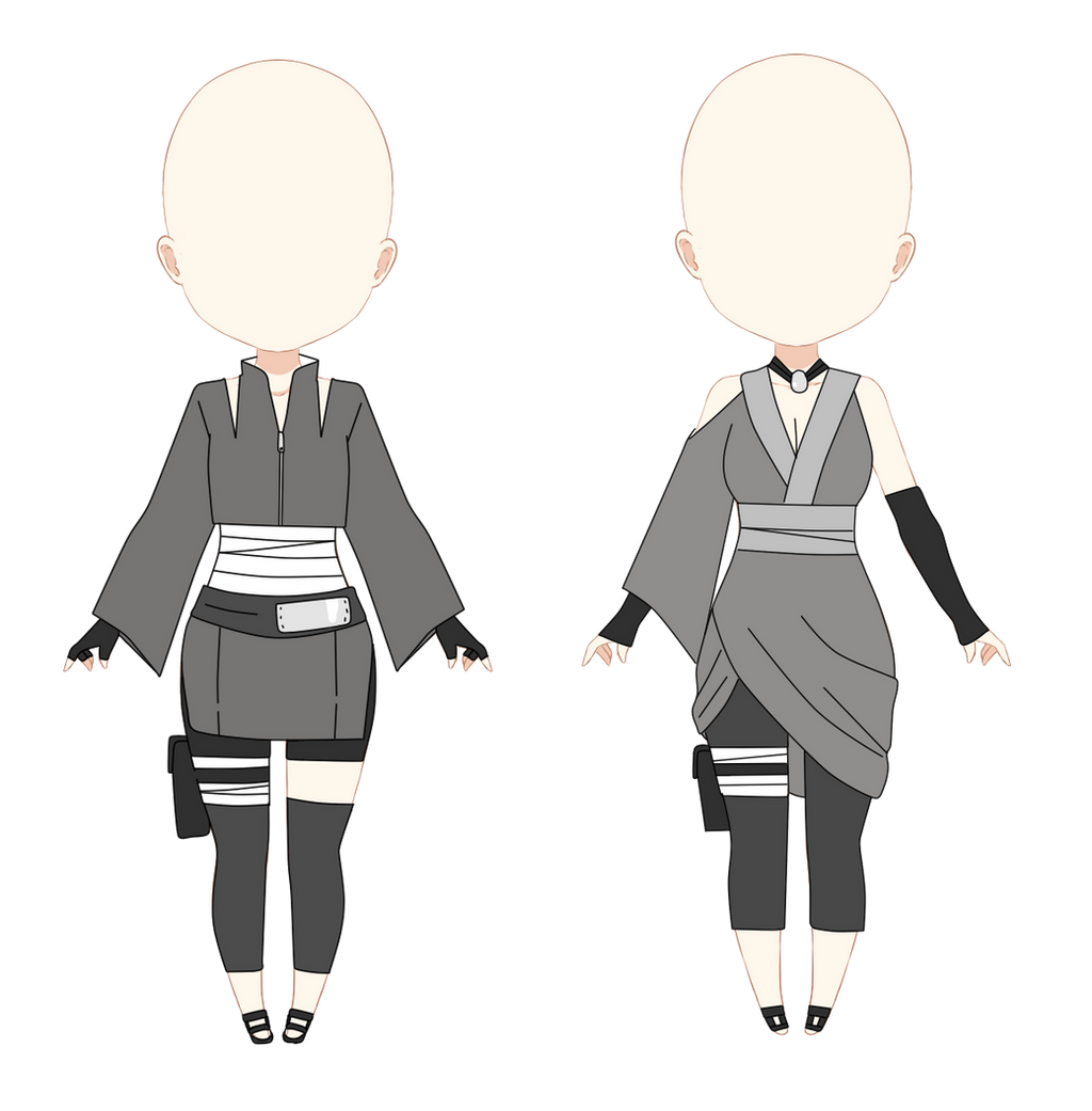Old Naruto Outfits For Sale By Anniberri On DeviantArt