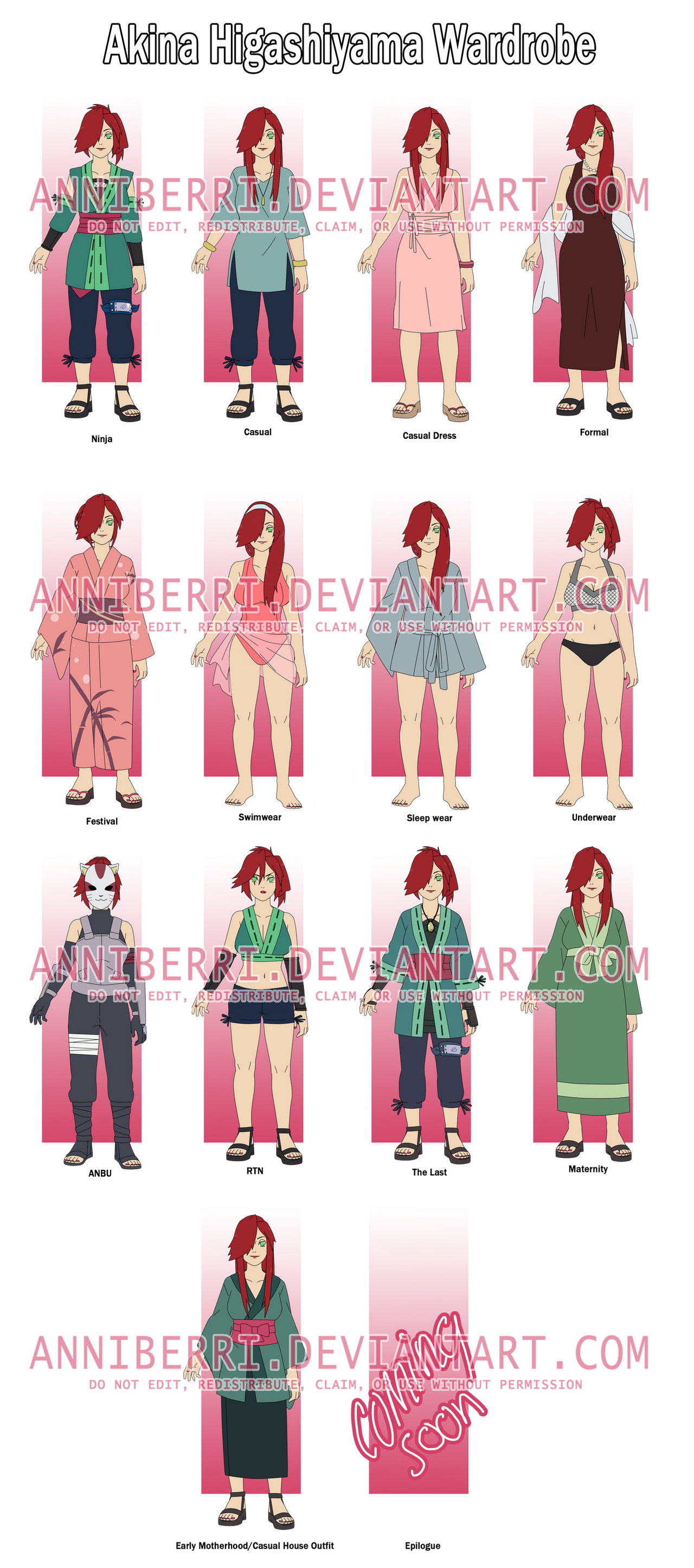Akina's Wardrobe -REMAKE- by anniberri