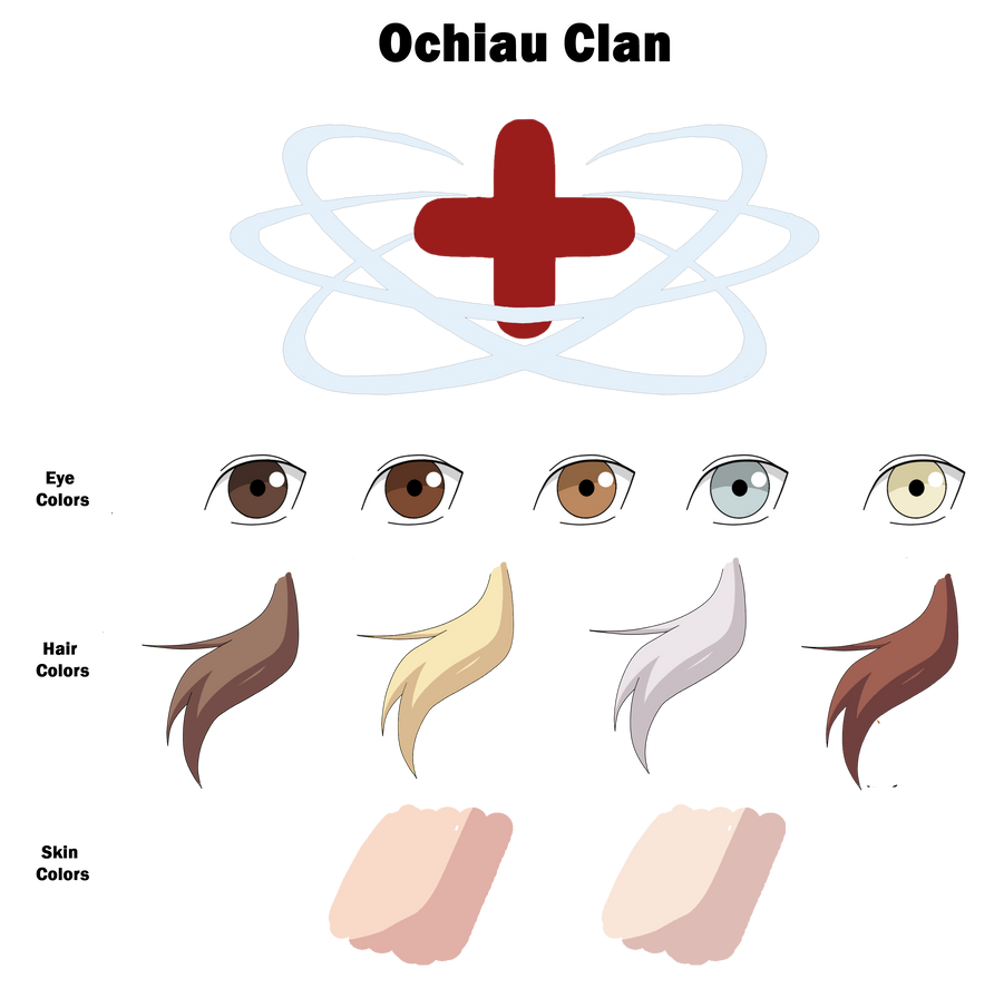 Ochiau Clan Color Sheet by anniberri