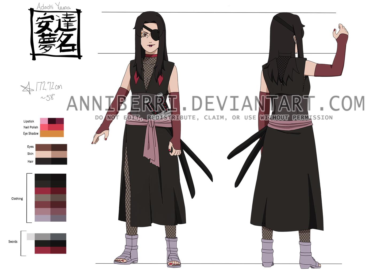 Yuuna Adachi Settei by anniberri