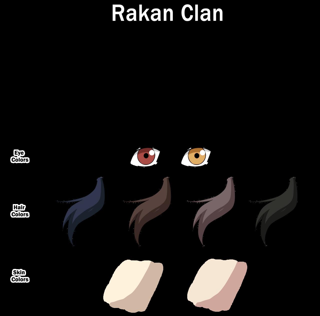 Rakan Clan Color Sheet by anniberri
