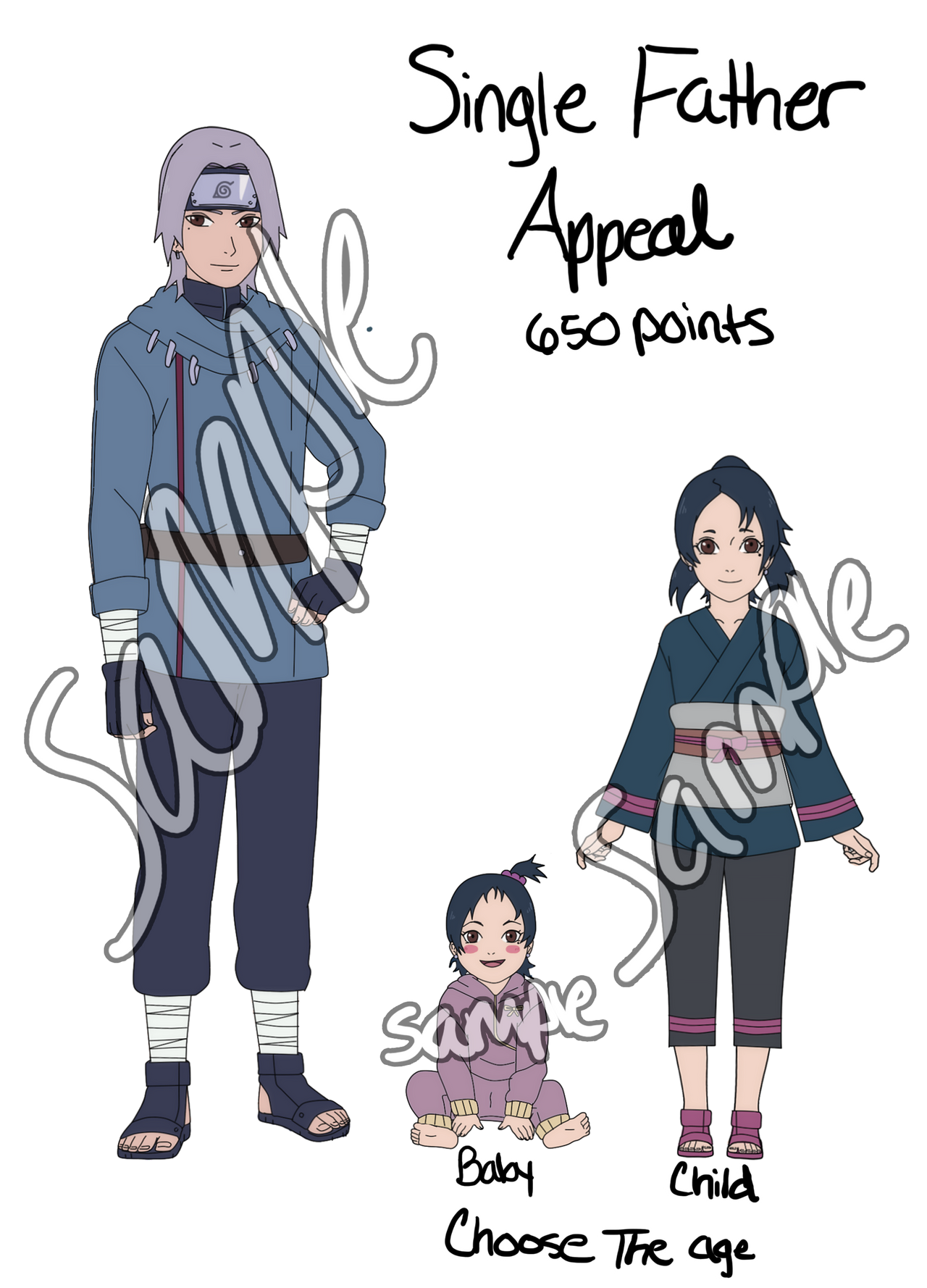 Naruto Adoptable Appeal -Closed- by anniberri