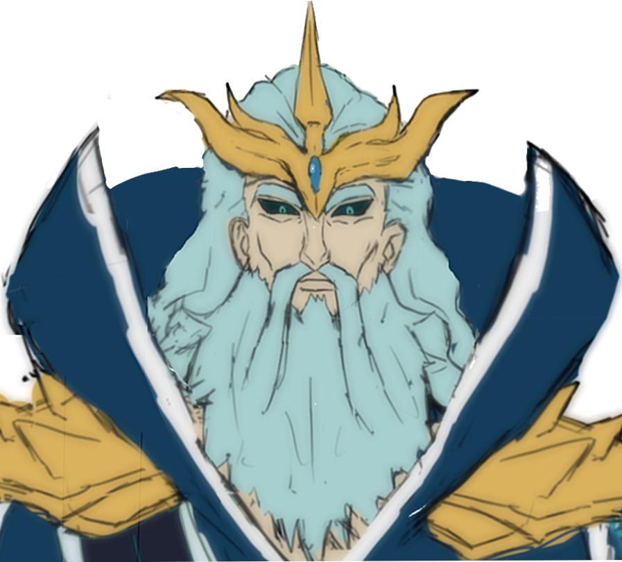 Arashi Tsuchida Poseidon by anniberri