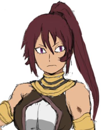 Artemis Itsuki Nakano by anniberri