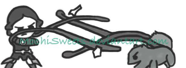 Metal Bending versus Vine Whip by MochiSweets