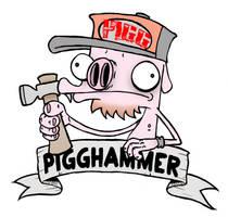 New Pigghammer Logo by PIGGHAMMER
