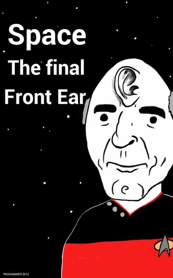 Space the final front ear. by PIGGHAMMER