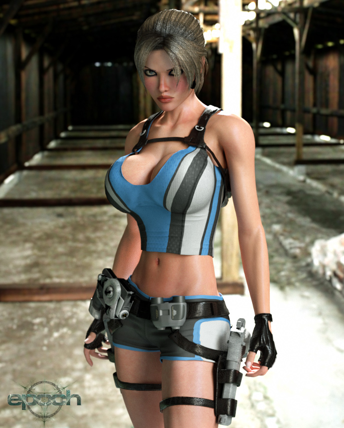 Clara Ravens - Octane Render 2 by Epoch-Art