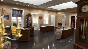 Trophy Room by Epoch-Art