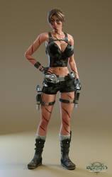 Clara Ravens - Covert Raiding Outfit by Epoch-Art