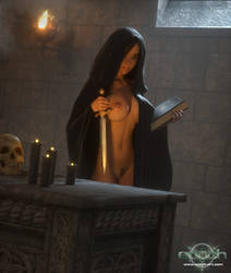 Kendra in Robe by Epoch-Art