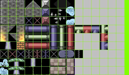 Underground Tile set by Sonicrumpets