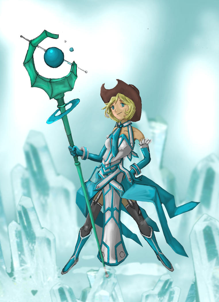 Anime Ice Mage Ice mage by etchvalentIce Mage Anime