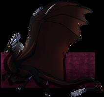 Spyro Mirrorverse-Princess Cynder(True form) by Desrosaur