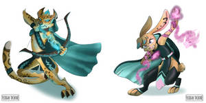 Spyro Mirrorverse Hunter and Bianca