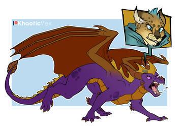 Spyro Mirrorverse- The Dragon and The Hunter
