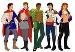 5 Disney Pin-up Princes
