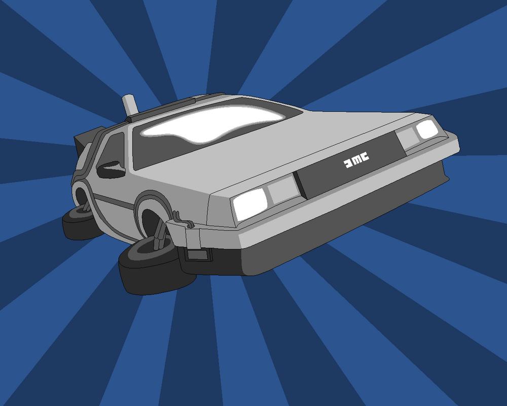 Back To The Future Delorean By Guynietoren On DeviantArt