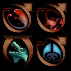 Oblivion spell icons by guynietoren