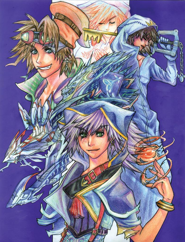 Kingdom Hearts 2 by SoulSeven7