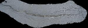 Asphalt crack: low-res