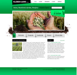 Bio style and Agro webdesign by 125ml