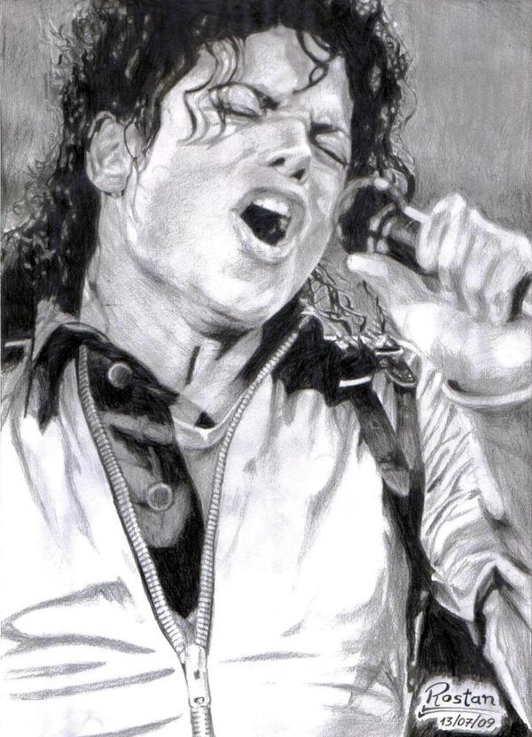 Michael Jackson by RostaNMenezes