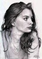 Anne Hathaway by RostaNMenezes