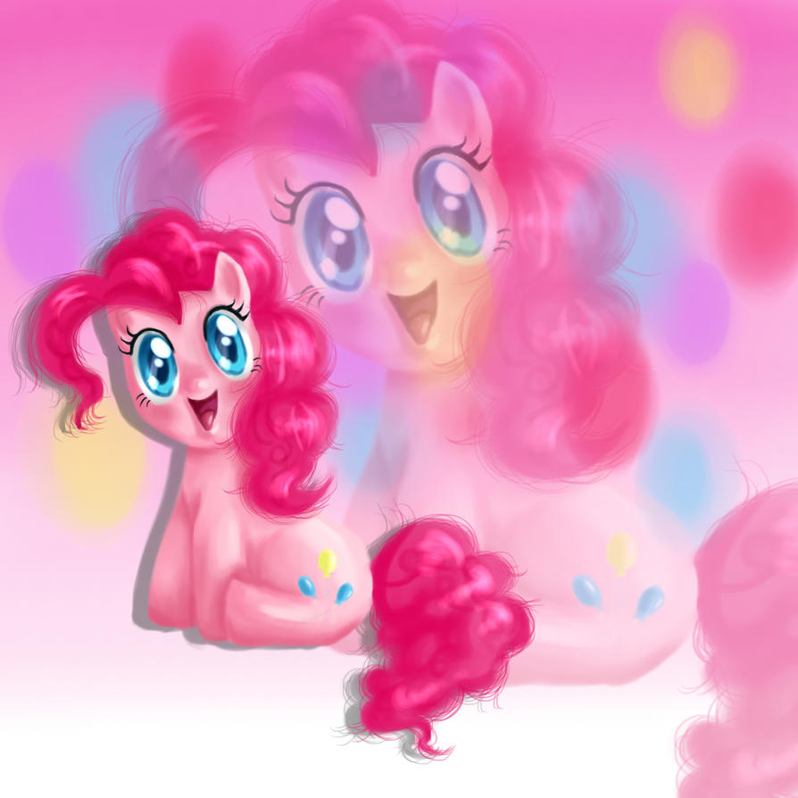 PartyPinkie by BlueyyKnight