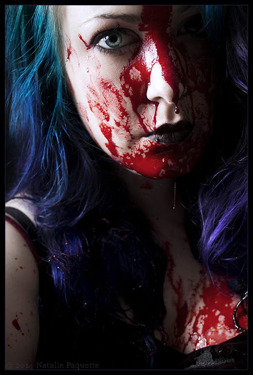 Slaughter in Technicolor by fetishfaerie-photos