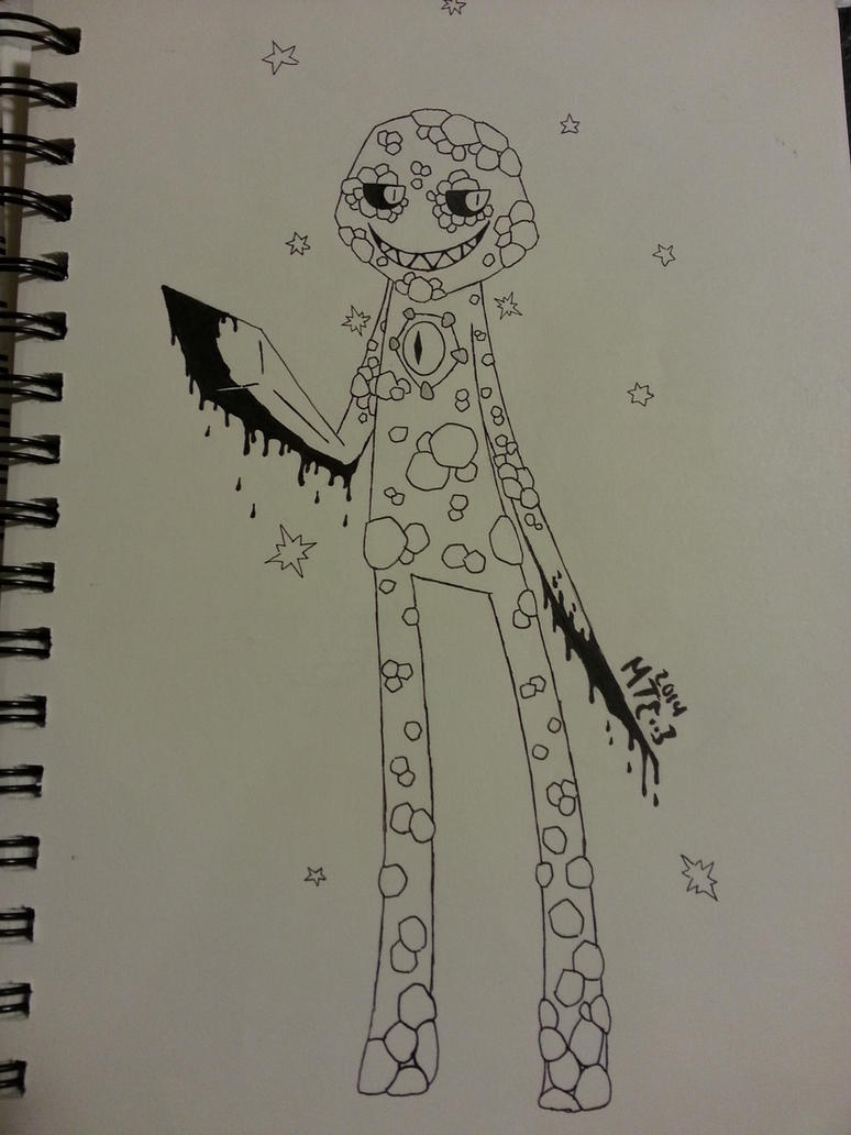 DoR Enderman Drawing by CATtheDrawer