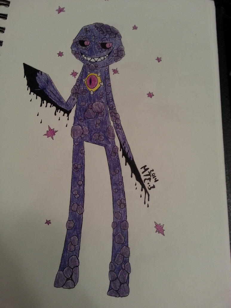 DoR Enderman [Colored] by CATtheDrawer